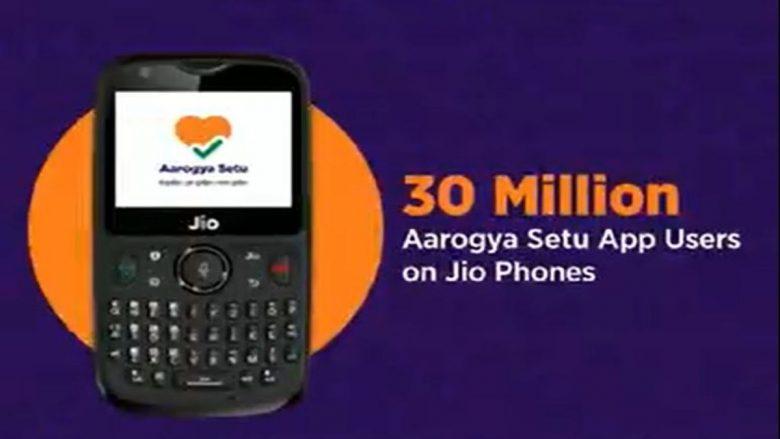 Aarogya Setu App Records Over 3 Crore Installs On Jio Phone Models
